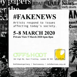 #FakeNews flyer