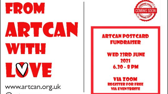From ArtCan with Love flyer 2021